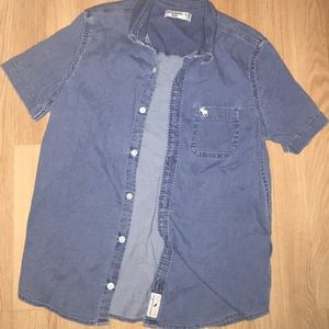 Abercrombie kids denim shirt